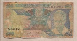 Tanzania - Banconota Circolata Da 100 Scelini P-11 - 1985 - Tanzania