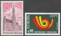 France 1973  - Europa Cept -  Set  MNH** - Europa-CEPT