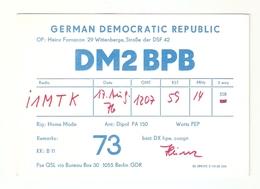 CT--02446-- CARTONCINO - GERMAN DEMOCRATIC REPUBLIC - WITTENBERG - 1976 - CB