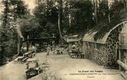 HARTMANNSWILLERKOPF (Vieil Armand)  Le Front Des Vosges  LA CANTINE Ed Bergeret - Militaria