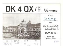 CT--02447-- CARTONCINO - GERMANIA - BAD OEYNHAUSEN - 1976 - CB