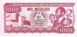 Mozambique - Pick 132c - 1000 Meticais 1989 - Unc - Mozambico