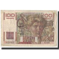France, 100 Francs, 100 F 1945-1954 ''Jeune Paysan'', 1952-10-02, TB+ - 1871-1952 Anciens Francs Circulés Au XXème