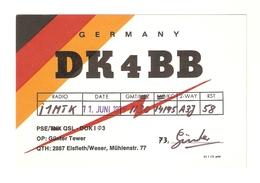 CT--02448-- CARTONCINO - GERMANIA -ELSFLETH - 1975 - CB