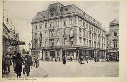 Lwów/Lviv/Львів : Hotel Georgia  Ca 1910  (1977) - Ukraine