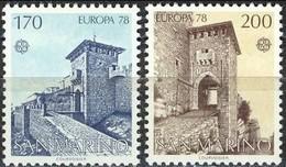 San Marino 1978  - Europa Cept -  Set MNH** - Europa-CEPT