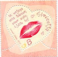 SI 2011-878 LOVE, SLOVENIA, 1 X 1v, MNH - Slovénie