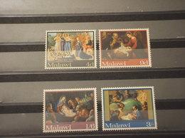 MALAWI - 1968 NATALE/QUADRI 4 VALORI - NUOVI(++) - Malawi (1964-...)