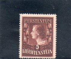 LIECHTENSTEIN 1951 ** DENT 14 3/4 - Liechtenstein