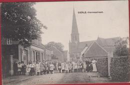 Gierle Vennestraat Kempen Geanimeerd TOPKAART ZELDZAAM 1912 (In Zeer Goede Staat) - Lille