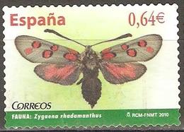 Espagne - 2010 - Papillon - YT 4181 Oblitéré - Butterflies