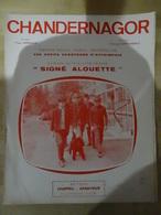 Partition Musicale Des Petits Chanteurs D'Estaimpuis (signé Alouette) - Sonstige