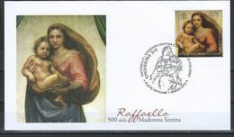 Vatican. Scott # 1496 FDC. 500th. Anniv. Of Madonna And Child. Joint Issue With Germany 2012 - Joint Issues