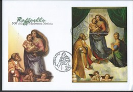 Vatican. Scott # 1497 Large FDC S/sheet. 500th. Anniv. Of Madonna And Child. Joint Issue With Germany 2012 - Joint Issues