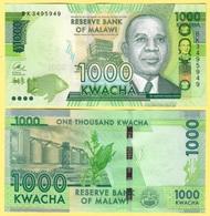 Malawi 1000 Kwacha P-67b 2016 UNC - Malawi