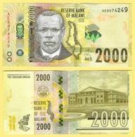 Malawi 2000 Kwacha P-new 2016 UNC - Malawi