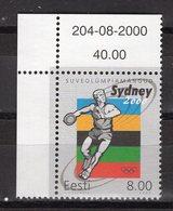 ESTONIA -  SYDNEY 2000 OLYMPIC GAMES  O523 - Sommer 2000: Sydney - Paralympics