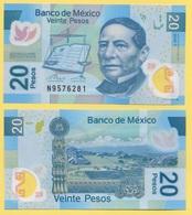 Mexico 20 Pesos P-122o 2016 (Serie Y) UNC - Mexico