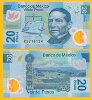 Mexico 20 Pesos P-122o 2016 (Serie AA) UNC - Mexico