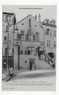VESOUL - HOTEL BARRESSOLS - MAISON DITE ESPAGNOLE AVEC PERSONNAGES - CPA NON VOYAGEE - Vesoul