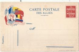 ***  Carte Postale Des Alliés  Neuve Excellent état  - MILITARIA - Guerre 1914-18
