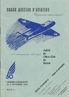 Aviation - Programme Meeting Lausanne-Blécherette - 1951 - Programmes