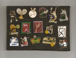 BEAU LOT PIN'S TENNIS - Badges