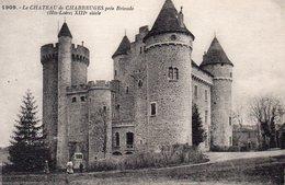 CARTE POSTALE ANCIENNE . HAUTE-LOIRE. LE CHATEAU DE CHABREUGES. Achat Immédiat - France