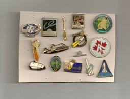 BEAU LOT PIN'S NASA AEROSPATIAL - Badges