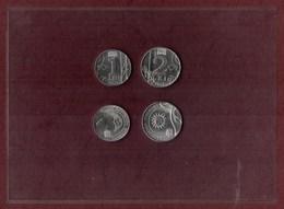 Moldova 2018.  2 Coins - 1 Leu; 2 Lei  ( Full Set Of 2 Coins ) UNC - Moldova