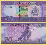 Solomon Islands 20 Dollars P-34 2017 UNC - Salomons