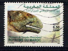 MAROC - 1353° - TÊTE DE DINOSAURE DE TAZOUDA - Morocco (1956-...)