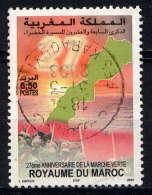 MAROC - 1311° - 27è ANNIVERSAIRE DE LA MARCHE VERTE - Morocco (1956-...)
