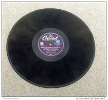 "78 Tours"" LES BAXTER  "" < THE HIGH AND THE MIGHT / VENEZUELA  < CAPITOL 2845 - 78 T - Disques Pour Gramophone"