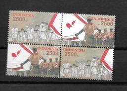 2012 MNH Indonesia Scouting, Postfris** - Indonésie