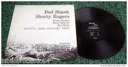 LP 30cm * BUD SHANK & SHORTY ROGERS & BILL PERKINS Etc...* <  PACIFIC JAZZ 1205 - Jazz