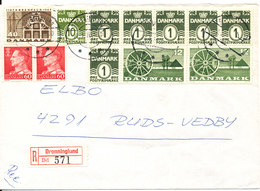 Denmark Registered Cover Dronninglund 22-1-1970 - Danemark