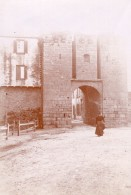 Bretagne Guerande Porte De Saillé Marais Salants Lot De 2 Photos Amateurs Vers 1900 - Places
