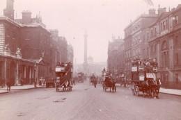 Angleterre Rues De Londres Vues Animees Lot De 16 Photos Amateur Vers 1900 - Lieux