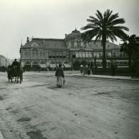 France Nice Casino Municipal Ancienne Photo Stereo Amateur Possemiers 1900 - Stereoscopic