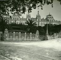 France Nice Cimiez Excelsior Hotel Regina Ancienne Photo Stereo Amateur Possemiers 1900 - Stereoscopic
