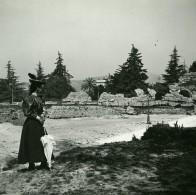 France Nice Cimiez Les Arenes Ancienne Photo Stereo Amateur Possemiers 1900 - Stereoscopic