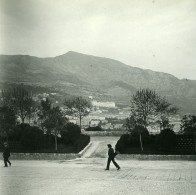 Monaco Panorama Ancienne Photo Stereo Amateur Possemiers 1900 - Stereoscopic