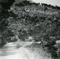France La Grande Corniche Ancienne Photo Stereo Amateur Possemiers 1900 - Stereoscopic