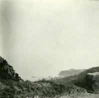France La Grande Corniche Vue Sur Le Casino Ancienne Photo Stereo Amateur Possemiers 1900 - Stereoscopic