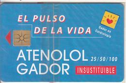 ARGENTINA - Atenolol Gador 4, Telecom Argentina Telecard, Chip GEM1a, Tirage %5000, 05/98, Mint - Argentinien