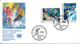 Austria UN Vienna FDC 17-6-1988 Complete Set On Cover With Cachet - FDC