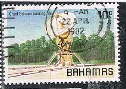 BAHAMAS 180313 - 1981 10c Tracking Station Use - Bahamas (1973-...)