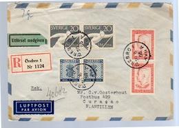 Örebro 1955 åke Tollin Rudbecksgatan> Oosterhout Curacao Netherlands Antilles (114) - Suède