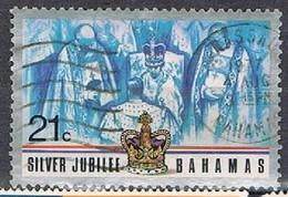 BAHAMAS 180326 - 1977 21c QEII 25th Used - Bahamas (1973-...)